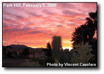 San Jacinto Sunrise