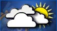 Mostly cloudy, Chance of rain
