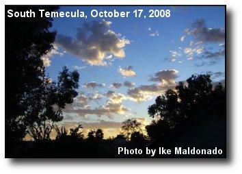 Altocumulous Clouds