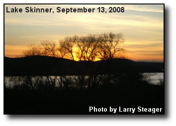 Lake Skinner Sunset