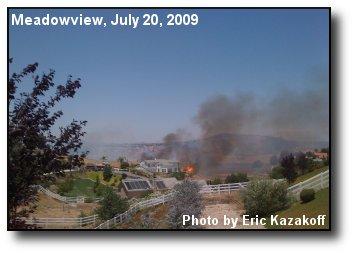 Meadowview Fire